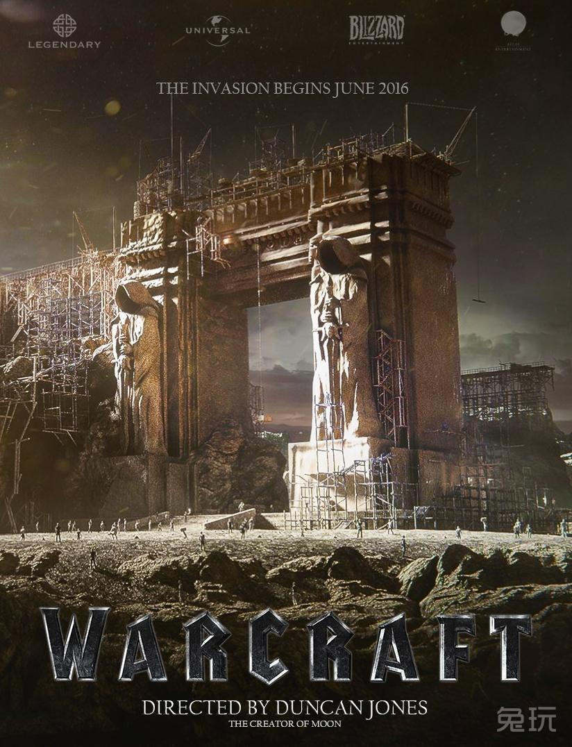 玩家自制魔兽电影主题海报:再现黑暗之门!