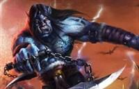 玩家命题绘画:卡加斯-刃拳和血精灵猎人
