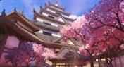 守望先锋地图介绍:花村 樱花环绕日本城
