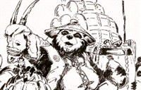 魔兽玩家新年贺图绘画:俺给你们拜年啦!
