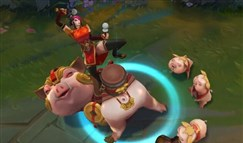 猪年春节薇恩、瑟庄妮、塔姆皮肤抢先看