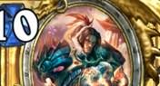 炉石传说史上最强防战 冠军的试炼瓦王龙战卡组