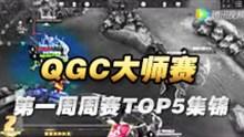 王者荣耀QGC大师赛 第一周周赛TOP5集锦