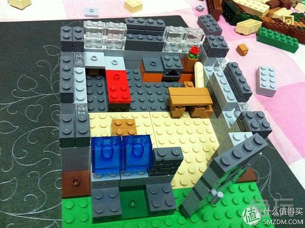 lego 乐高 minecraft 我的世界 21116 到手拼装鉴赏
