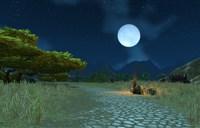 艾泽拉斯圆月时:魔兽世界中美丽的月光