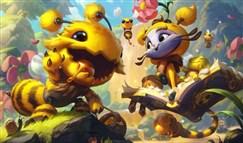 英雄联盟三款小蜜蜂系列皮肤原画公开
